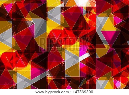 Abstract Blue Business Background triangles easy editable, vector