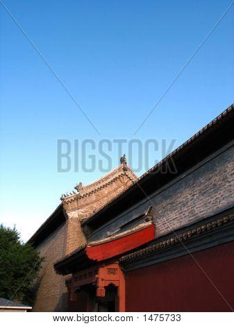 Old Palace'S Door In Beijing
