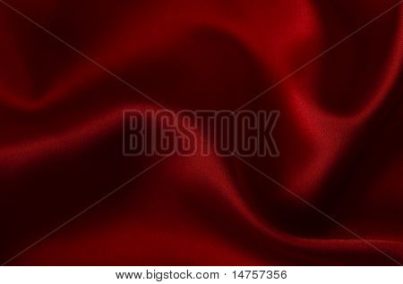 Beautiful red satin as Day Valentine background