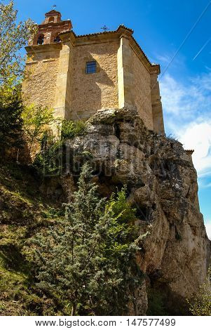Church Of San.saturio At Soria, Castilla Y Leon, Spain