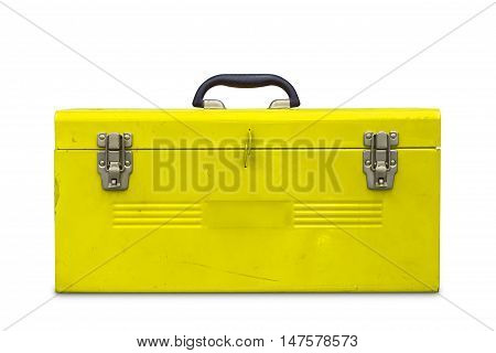 Old Yellow Toolbox