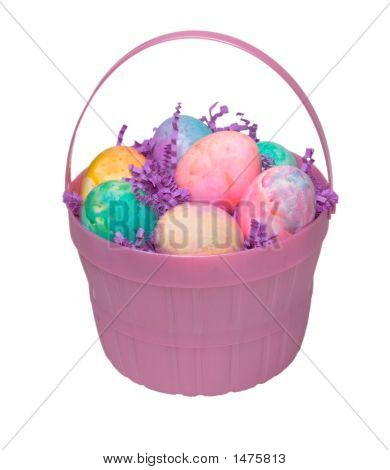 Pink Easter Basket