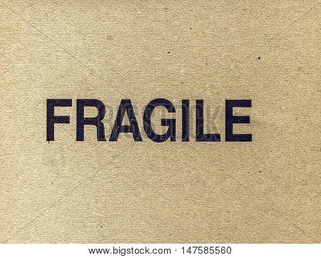 Vintage Looking Fragile