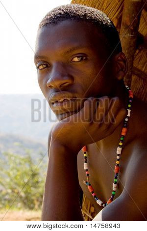 zulu tribe man