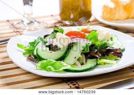 fresh healthy food - salad