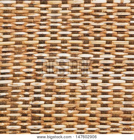 Abstract rattan weave for texture and background