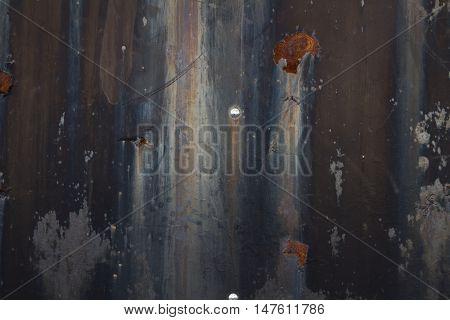 weathered painted rusting metal grunge grim texture