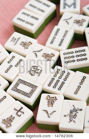 traditional chinese game - mahjong