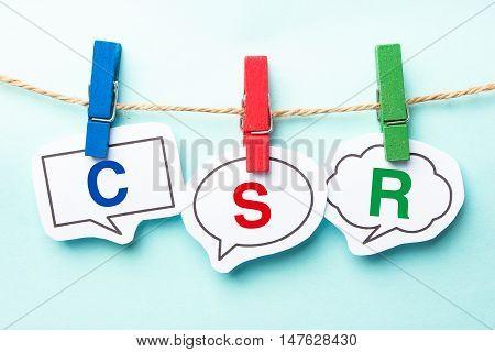 Csr Bubble Word