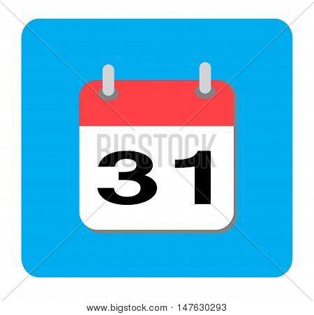 Calendar icon, Flat calendar icon, Calendar icon, Flat calendar icon, Calendar icon on white background