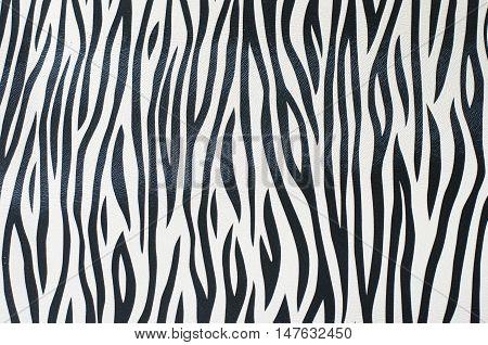 The zebra stripes line texture pattern background