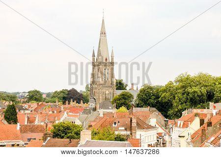 Classic Architecture European Building Village Brugge