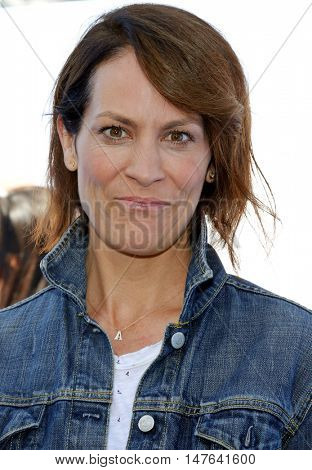 Annabeth Gish at the Los Angeles premiere of 'Storks' held at the Regency Village Theatre in Westwood, USA on September 17, 2016.