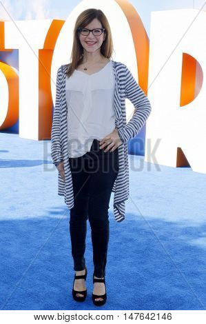 Lisa Loeb at the Los Angeles premiere of 'Storks' held at the Regency Village Theatre in Westwood, USA on September 17, 2016.