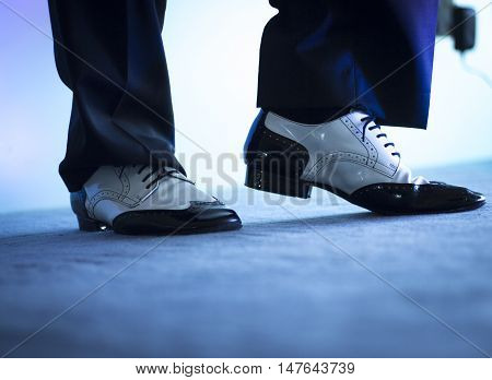 Male Dancer Dancing Shoes