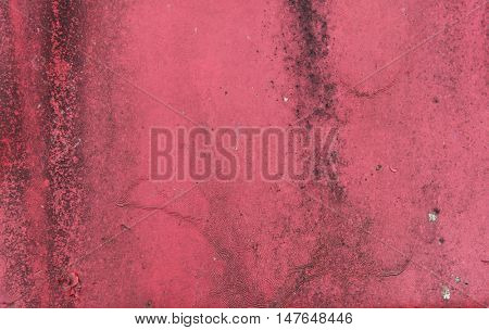texture and background concept - close up of old red rusty metal surface