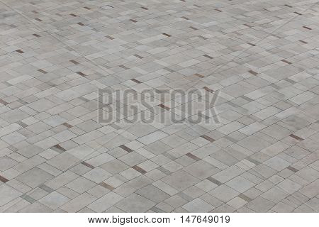 Floor walkway stone slabs for the decoration design background.