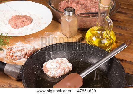 Process Of Making Meatballs