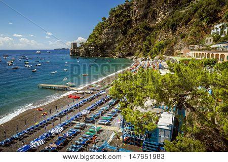 Beautiful Positano. Amalfi Coast in southern Italy