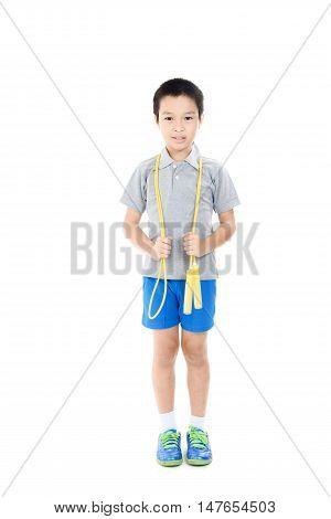 Rope Jumping Boy