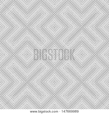 Seamless pattern. Abstract small dotted background. Modern stylish texture with regularly repeating dotted geometrical shapes small dots rhombuses crosses. Vector element of graphic design