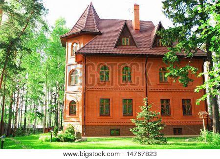 Luxury three tier mansion