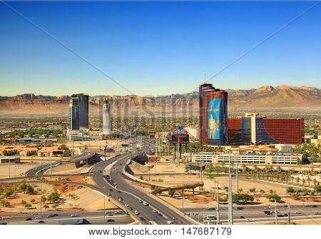 Las Vegas, NV/USA - October 26: Rio All-Suite Hotel & Casino  on October 26, 2015 in Las Vegas. The Rio hosts more than 2,500 suites, providing spectacular views of Las Vegas