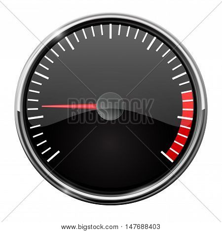 Measuring dial. Universal. Vector illustration isolated on white background