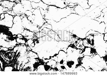Invert Marble Texture, Marble Background With White Or Black Color For Design Or Decorate Your Conte