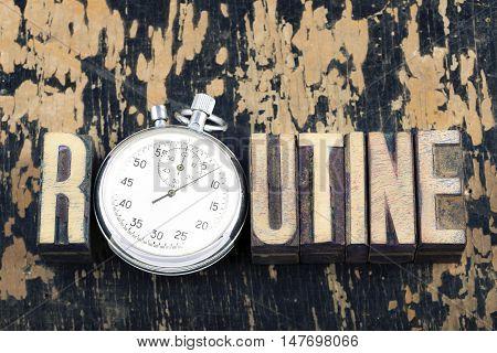 Routine Word Watch
