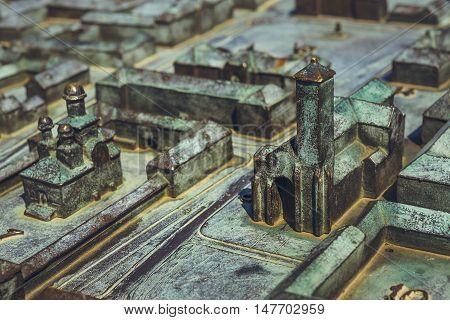 Miniature Representation Of Alba Carolina Citadel