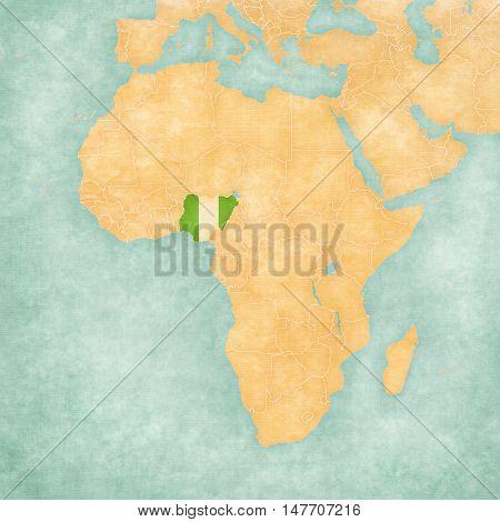 Map Of Africa - Nigeria