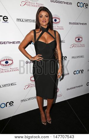 LOS ANGELES - SEP 17:  Golnesa 'GG' Gharachedaghi at the Brent Shapiro Foundation for Alcohol and Drug Prevention at the Private Residence on September 17, 2016 in Beverly Hills, CA