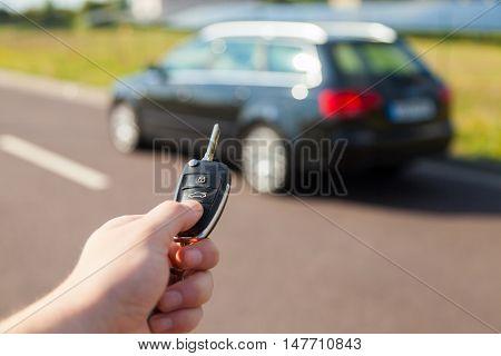 a car key makes a car open