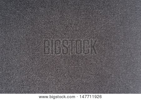 Foam plastic macro texture. Gray background pattern.