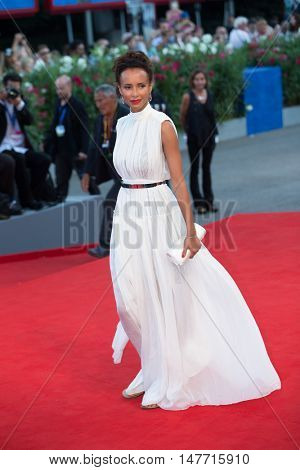 Sonia Rolland  at the premiere of Nocturnal Animals at the 2016 Venice Film Festival. September 2, 2016  Venice, Italy