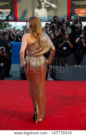 Amy Adams  at the premiere of Nocturnal Animals at the 2016 Venice Film Festival. September 2, 2016  Venice, Italy