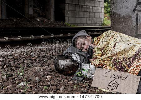Sleeping Under The Bridge