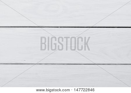 Empty white wooden table background