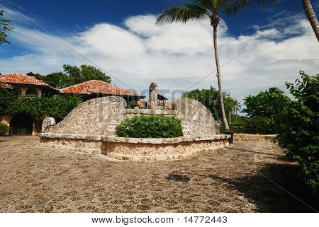 Colonial town reconstructed in Dominican Republic