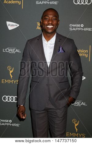 LOS ANGELES - SEP 16:  B.J. Britt at the TV Academy Performer Nominee Reception at the Pacific Design Center on September 16, 2016 in West Hollywood, CA