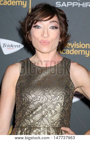 LOS ANGELES - SEP 16:  Naomi Grossman at the TV Academy Performer Nominee Reception at the Pacific Design Center on September 16, 2016 in West Hollywood, CA