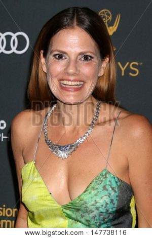 LOS ANGELES - SEP 16:  Suzanne Cryer at the TV Academy Performer Nominee Reception at the Pacific Design Center on September 16, 2016 in West Hollywood, CA