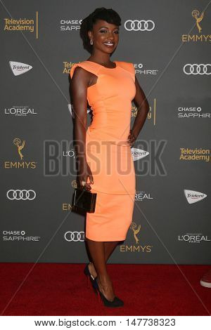 LOS ANGELES - SEP 16:  Shanola Hampton at the TV Academy Performer Nominee Reception at the Pacific Design Center on September 16, 2016 in West Hollywood, CA