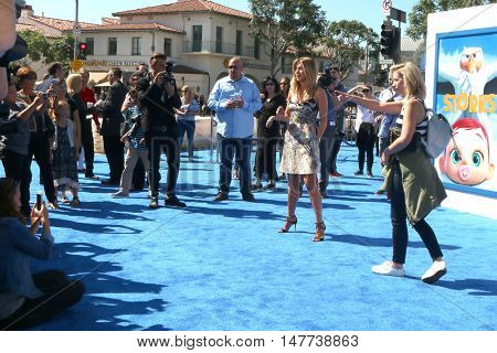 LOS ANGELES - SEP 17:  Jennifer Aniston at the
