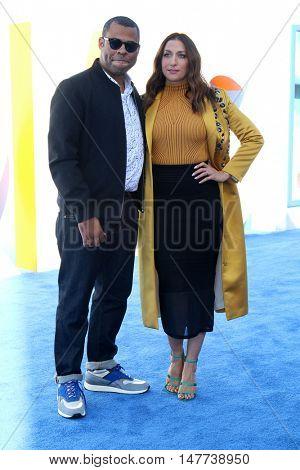 LOS ANGELES - SEP 17:  Jordan Peele, Chelsea Peretti at the