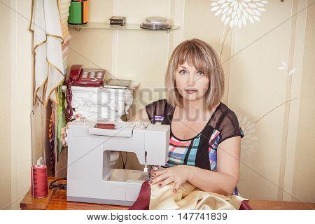 Adult Woman Seamstress