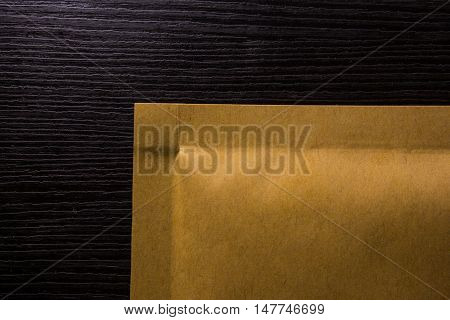 Manilla Envelope Package Shipping Texture Corner Paper Brown