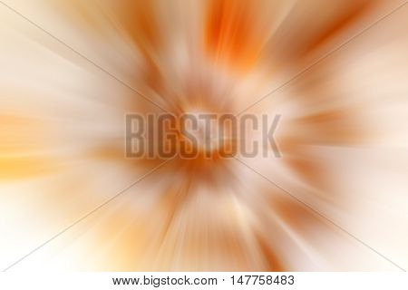 abstract orange background. bokeh abstract light background. Summer background with a magnificent sun burst with lens flare.