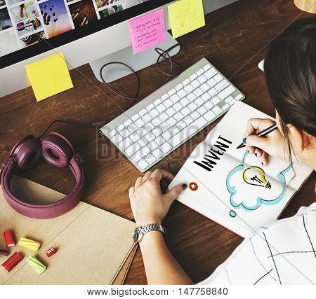 Ideas Creative Innovation Design Concept